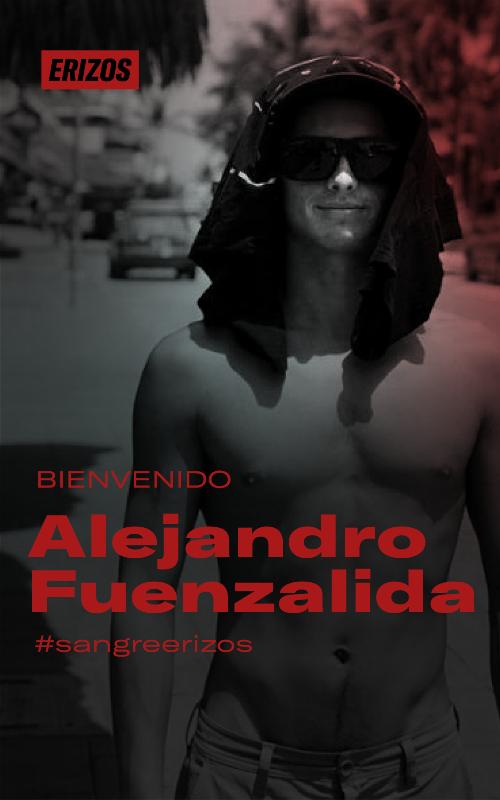 WELCOME ALEJANDRO FUENZALIDA!